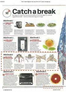 Men's Health Magazine, May Issue 2012 (Chi-Yu press coverage)