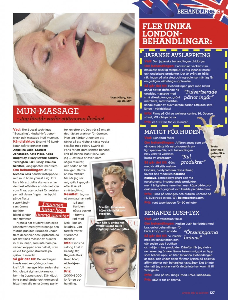 Swedish beauty magazine London beauty trends page 4