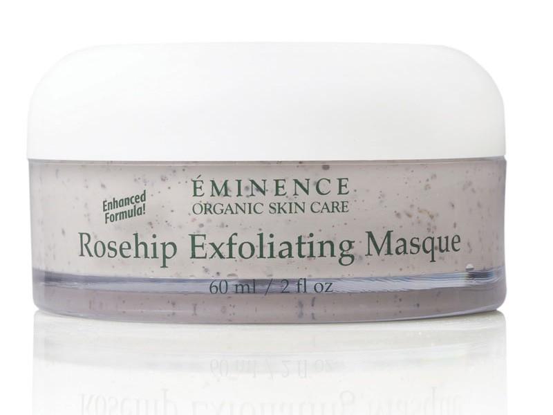 Eminence  Rosehip and Maize Exfoliating Masque 3 Sets Lip Smacker Flavored Balm Pre-Glued Finger Nails Disney Princess + Pouch
