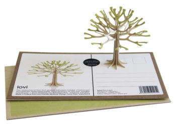 Lovi Season Tree 11cm pale green with package