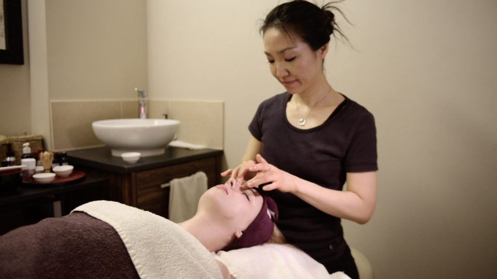 Chidoriya maiko facial at chi yu wellness centre