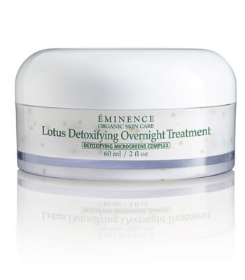 Eminence Organics lotus detoxifying overnight treatment EOS2327