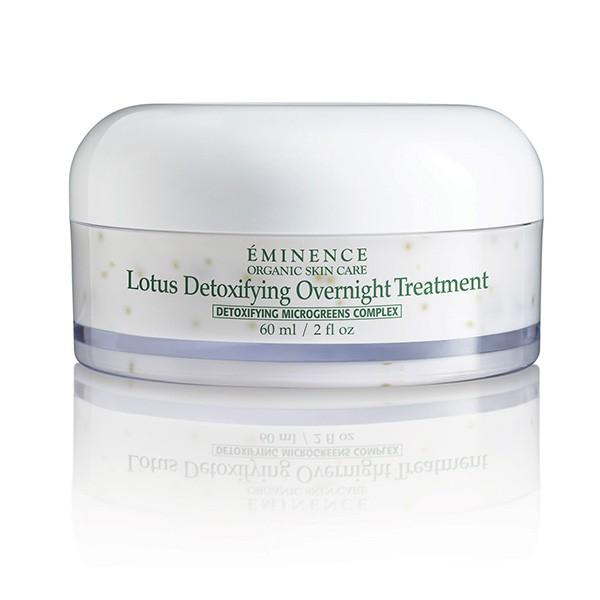 Eminence Organics lotus detoxifying overnight treatment EOS2327