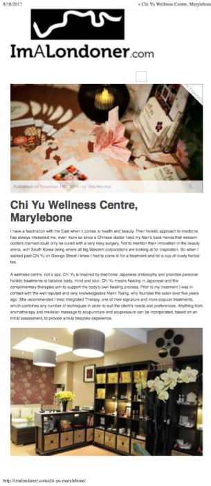Chi yu imalondoner article page 1