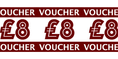 Chi Yu 8th Anniversary £8 Voucher