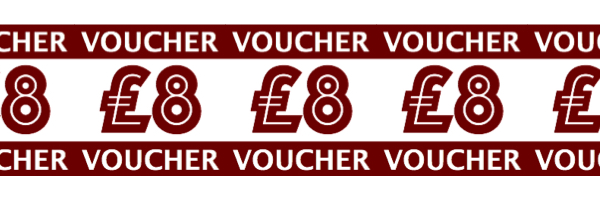 Chi Yu £8 voucher 8th Anniversary