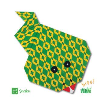 ORG07012-Origami-Snake-Card