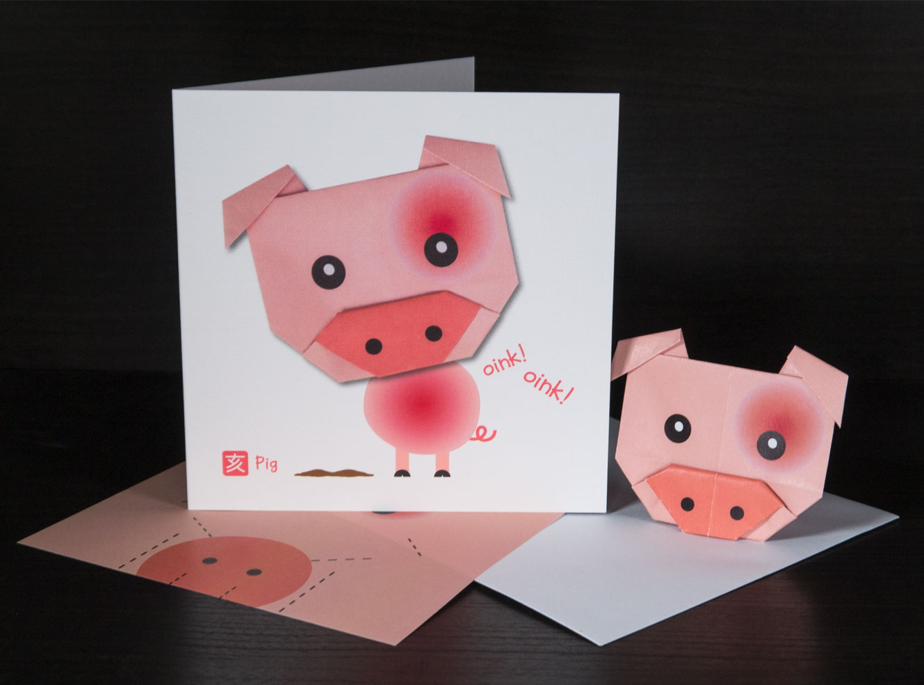 Origami Pig || How To Make Paper Origami Pig Easy - YouTube | 985x1329