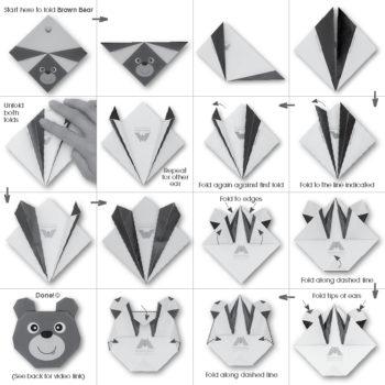 ORG07014 Origami Brown Bear_hr2