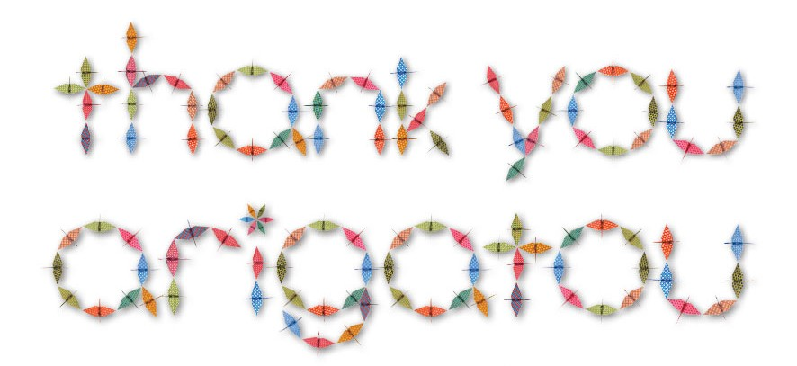 Origami-Crane-thank you arigatou