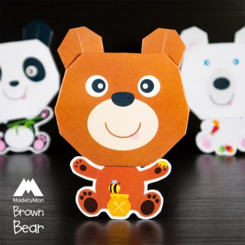made-by-man-we-three-bears-origami-kit-brown-bear